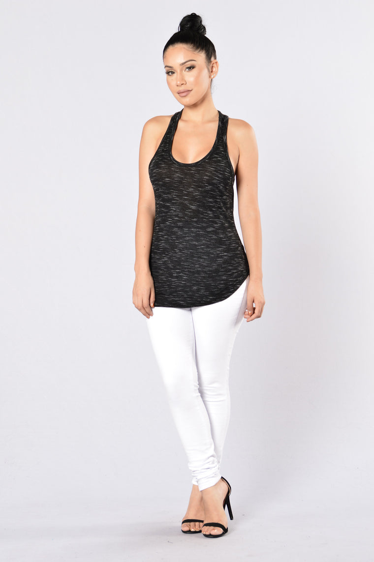 Roll With It Tank - Black