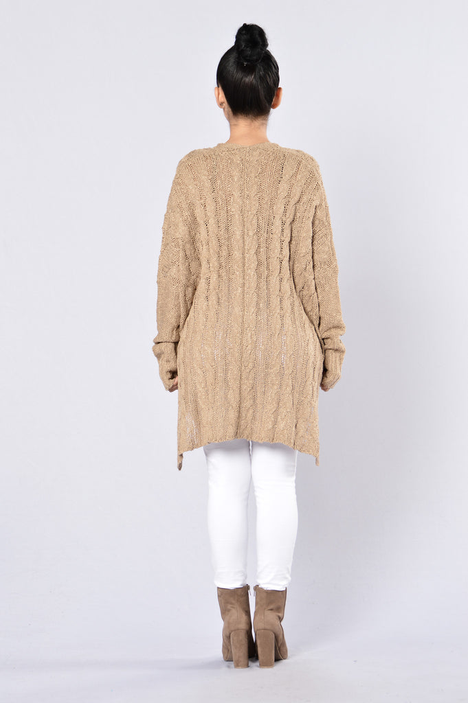 Soft Caramel Sweater - Toffee