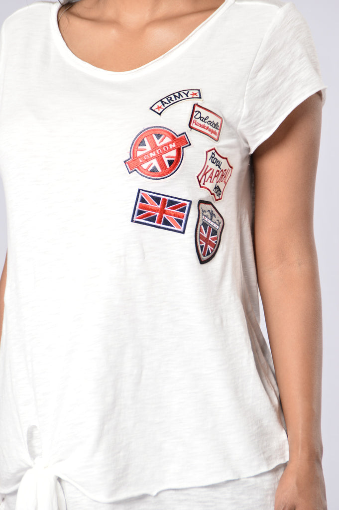 London Underground Tee - White