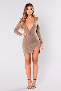 Sugar Frenzy Dress - Mocha