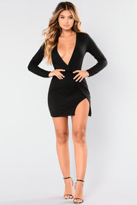 Sugar Frenzy Dress - Black Angle 1