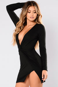 Sugar Frenzy Dress - Black Angle 3