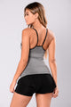 Posh Active Sports Bra - Charcoal