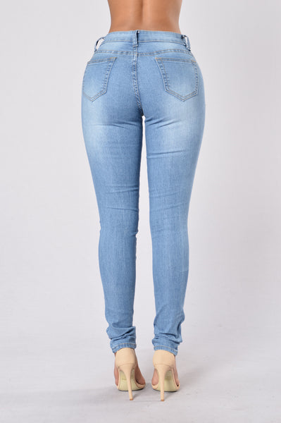 Not Sorry Jeans - Medium Wash