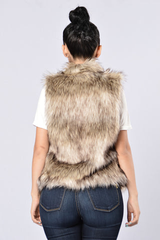 Spirit Animal Vest - Brown