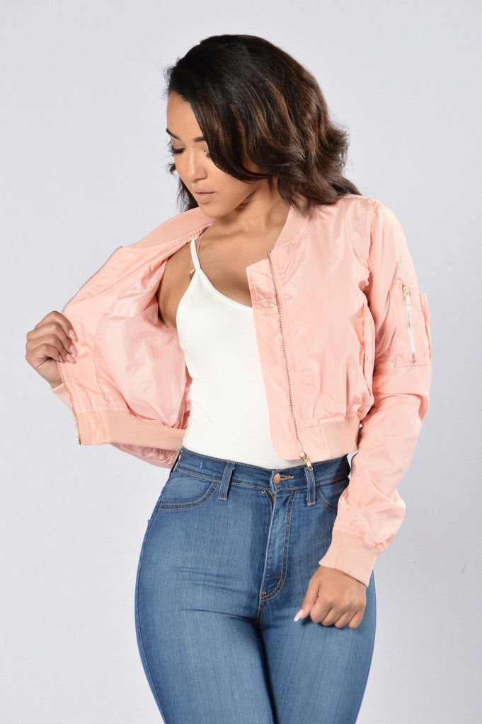 It Was All A Dream Jacket - Blush