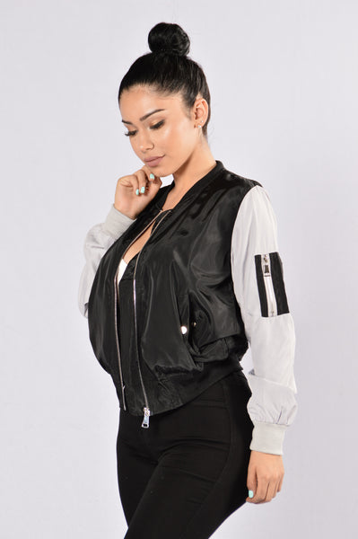 Rivalry Jacket - Black/Grey