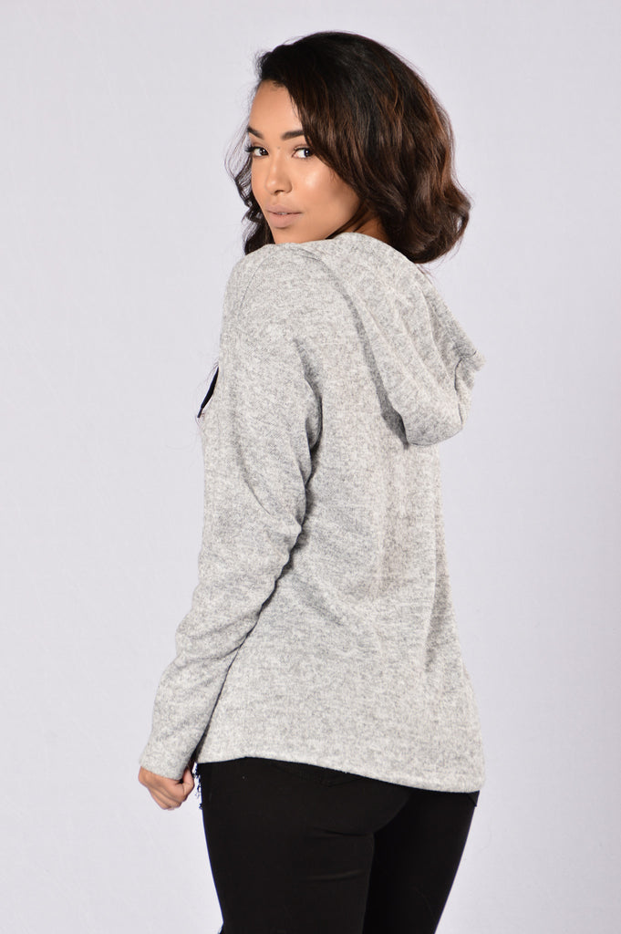Easy Choice Hoodie - Grey