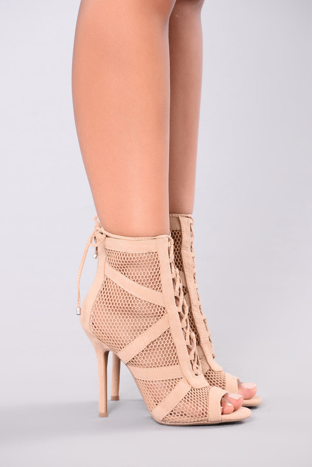 Honeycomb Bootie - Natural