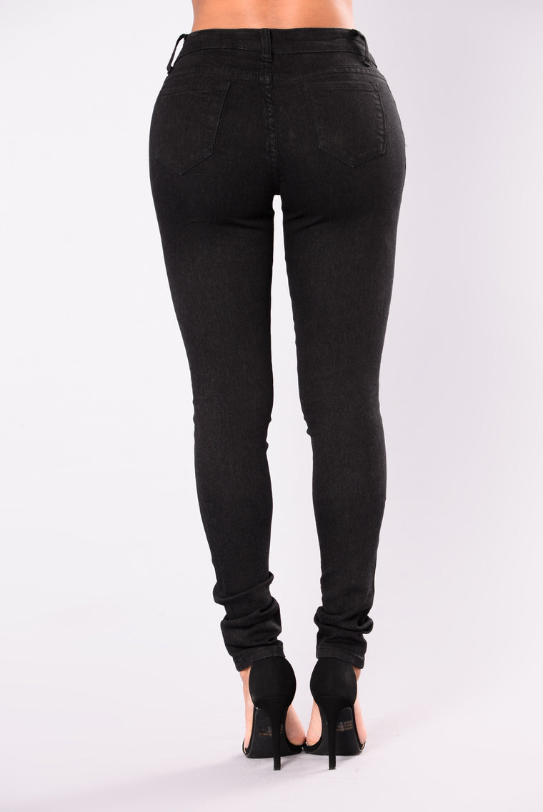 Silver Lake Skinny Jeans - Black