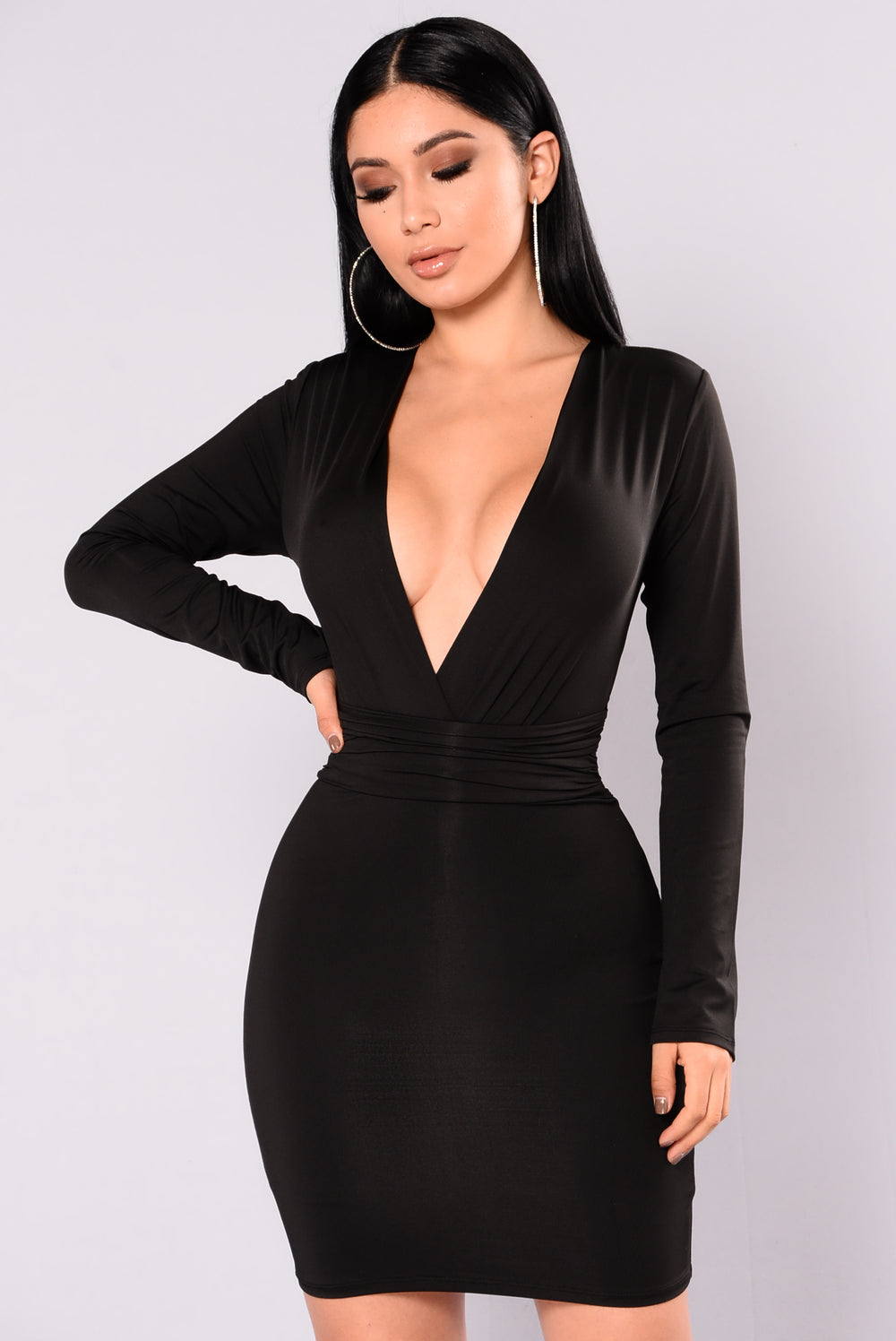 Lexia Mini Dress - Black