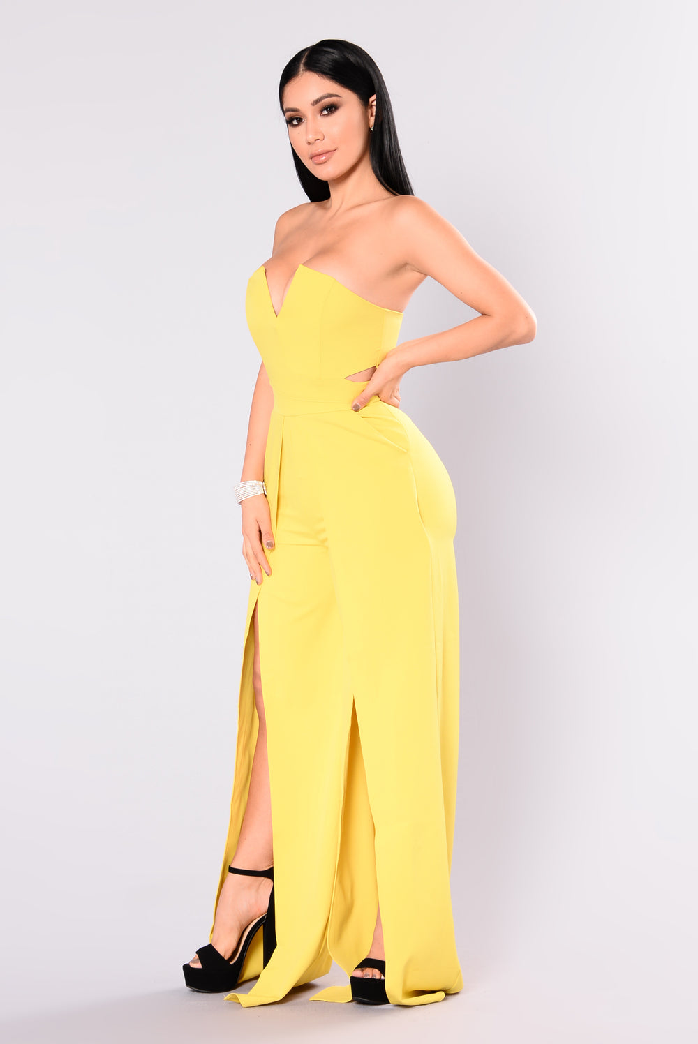 Meet Me Later Jumpsuit - Lime