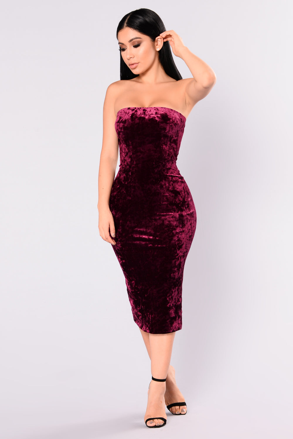 dresses velvet burgundy dress nova always around cocktail mini