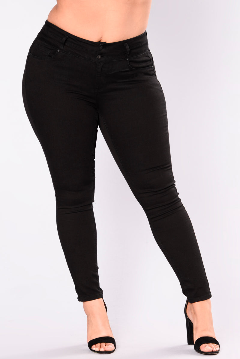 Body Right Booty Shaping Jeans II - Black