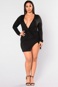Sugar Frenzy Dress - Black Angle 8