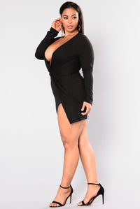Sugar Frenzy Dress - Black Angle 9