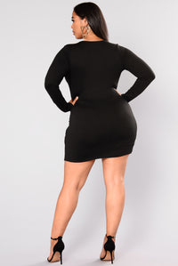 Sugar Frenzy Dress - Black Angle 7