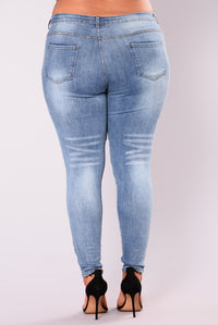 Beverly Skinny Jeans - Light Blue Angle 12