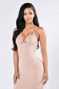 The Bridesmaid Dress - Nude