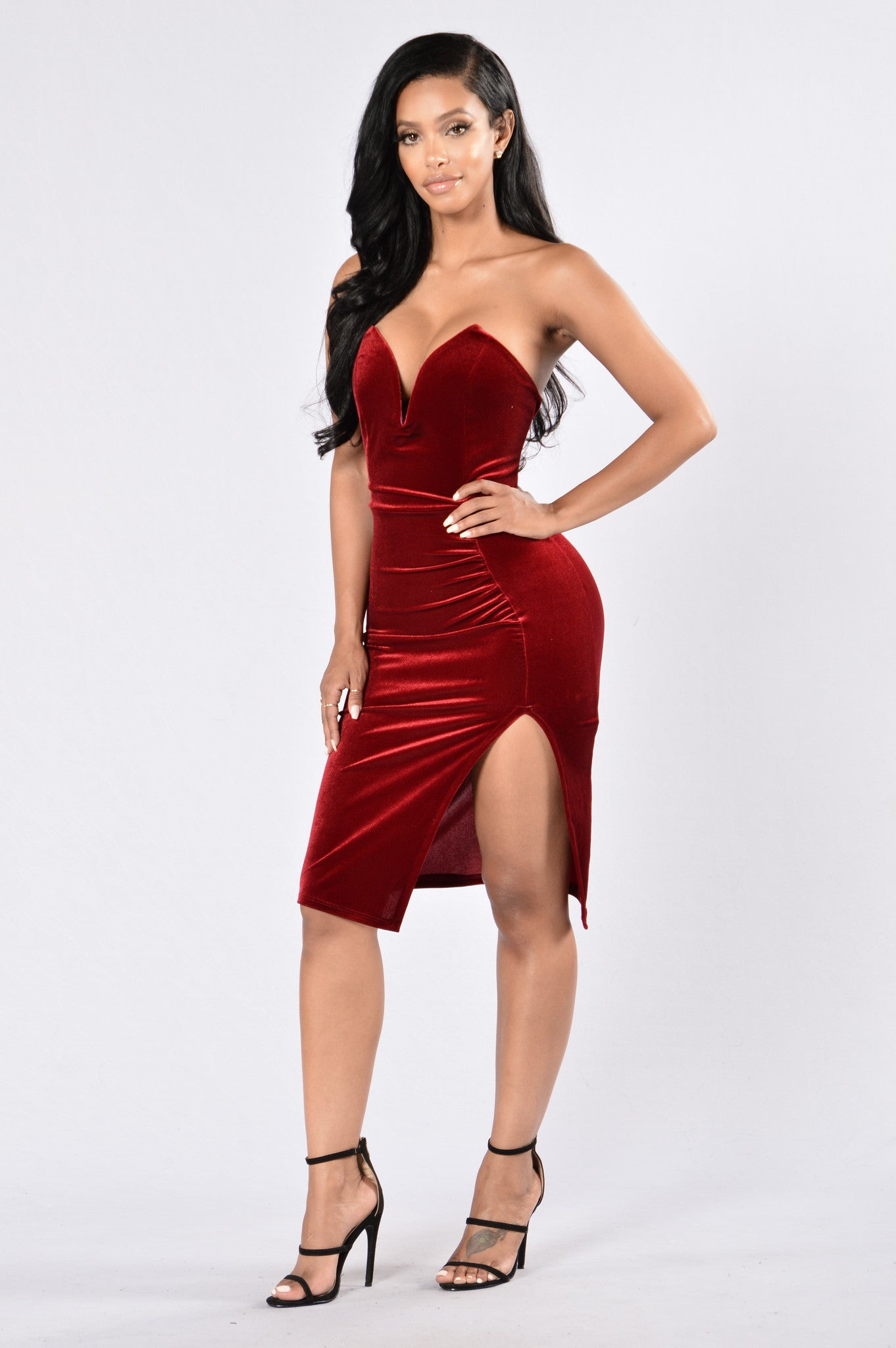 Red or white wine drop dead gorgeous dresses