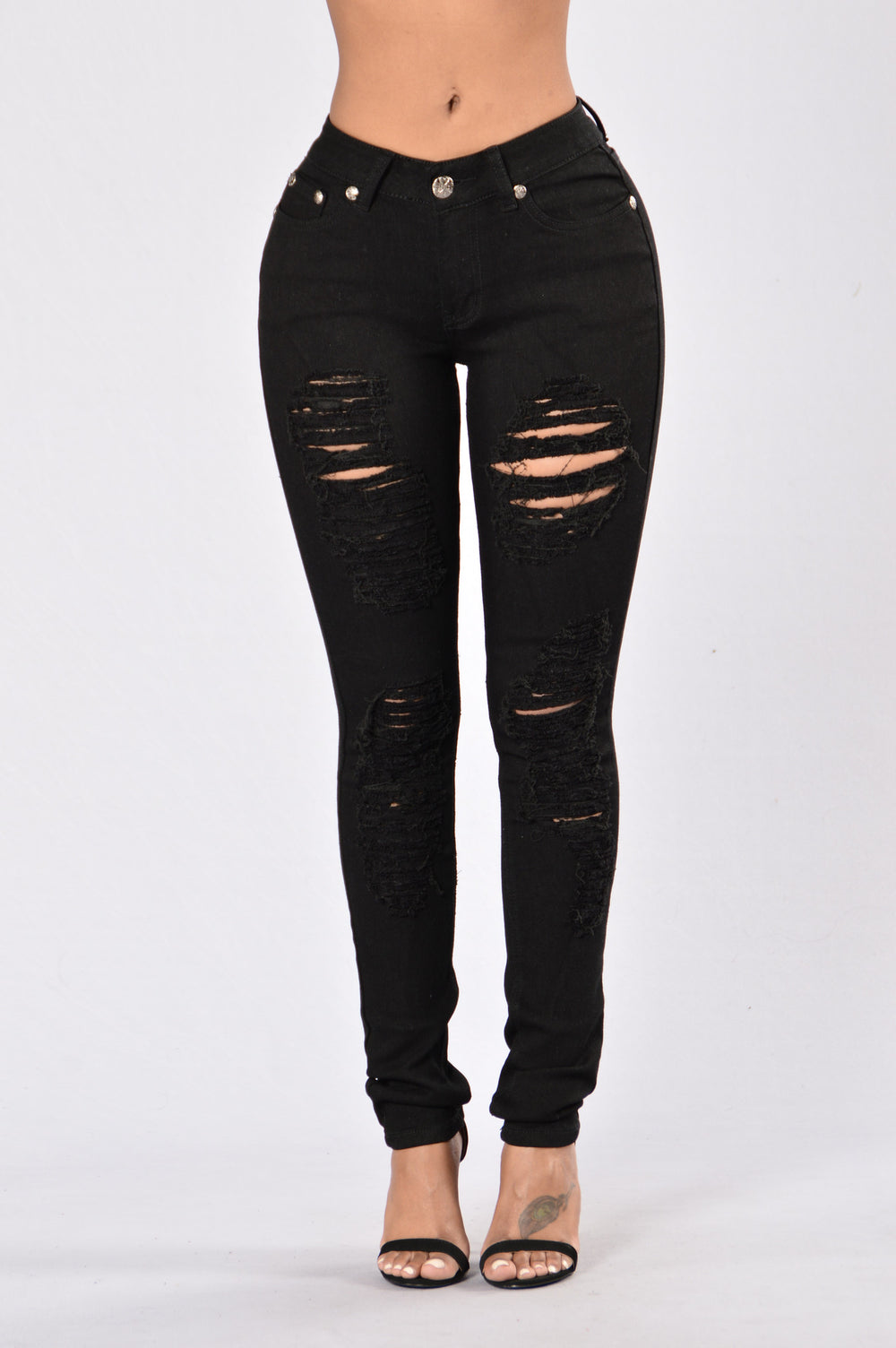 Any Time Any Day Jeans - Black