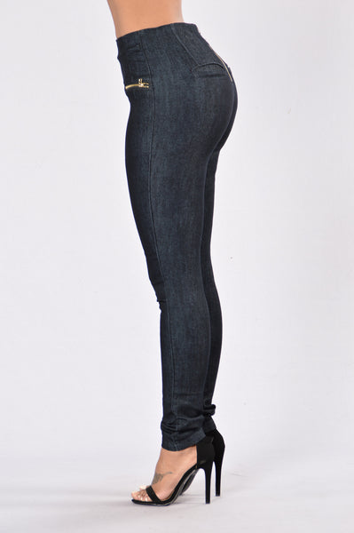 Show My Curves Jeans - Rinse