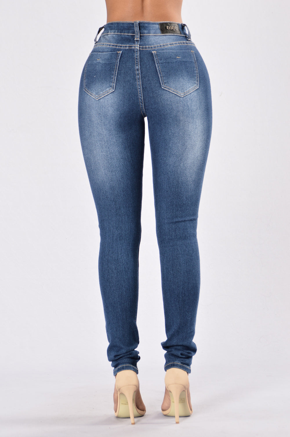 Been Around Time Jeans - Dark Blue