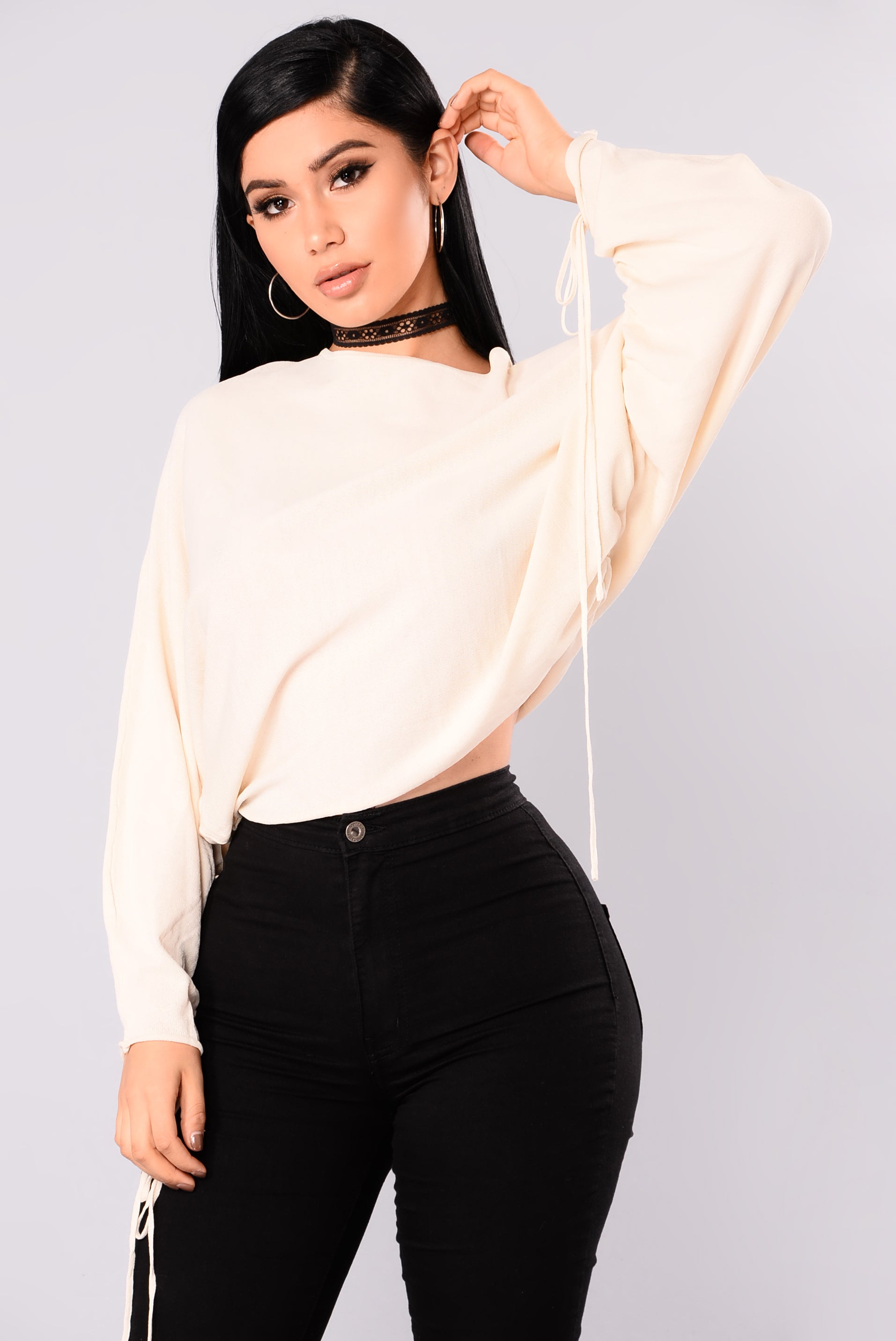 ba9807a16 Most Girls Top - Ivory