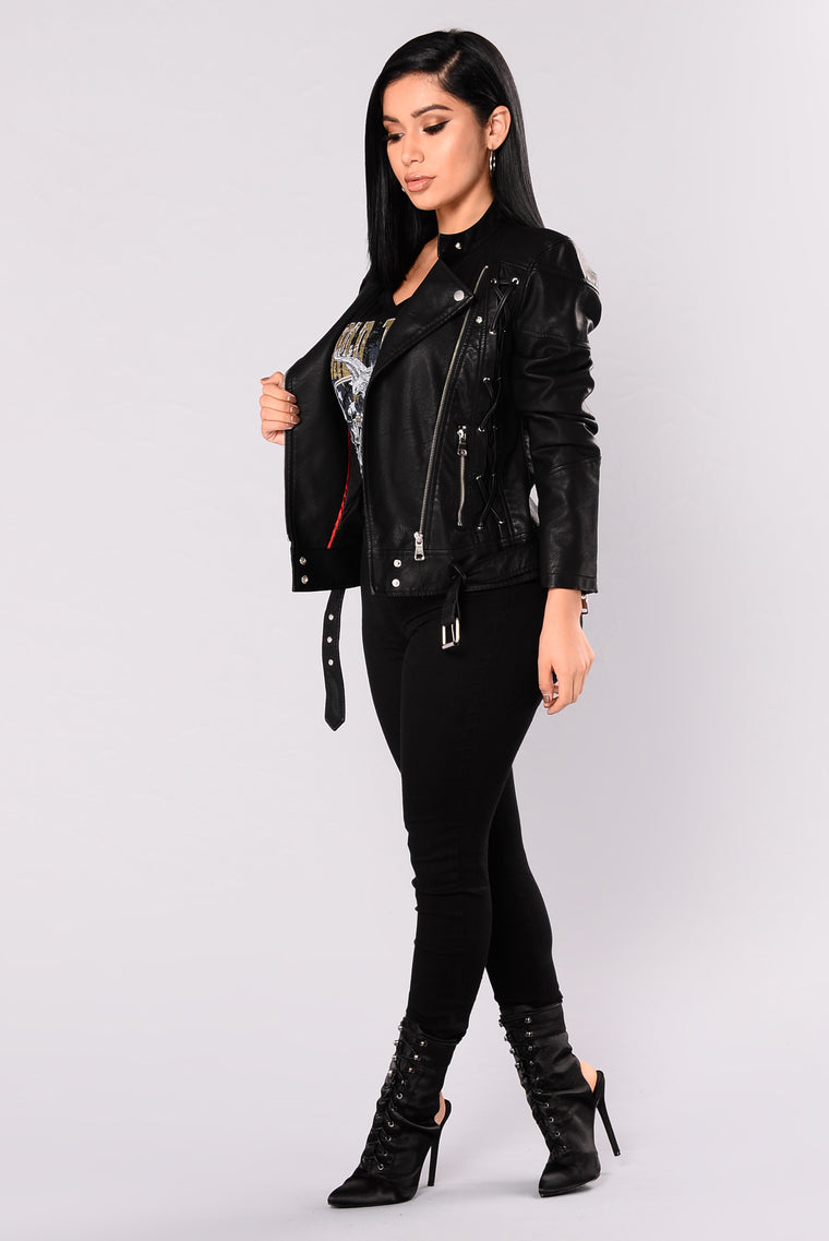 French Mole Moto Jacket - Black ba4e4e5dd6b