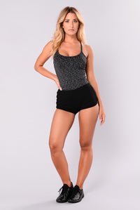 Trendster Active Tank Top - Black/Grey