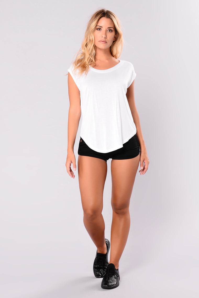 The Upside Mesh Active Tank Top - White