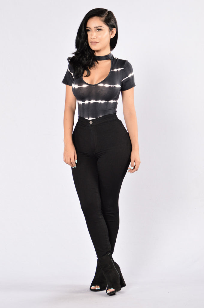 High Fidelity Bodysuit - Black