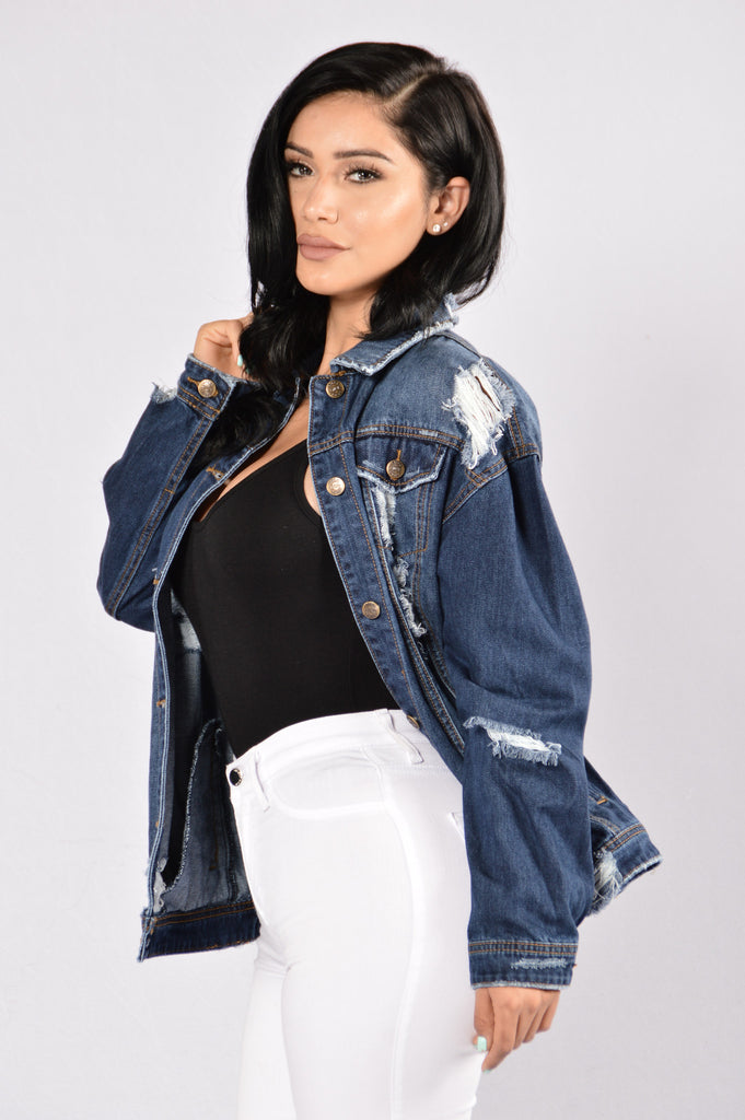 Denim For Days Jacket - Dark Blue
