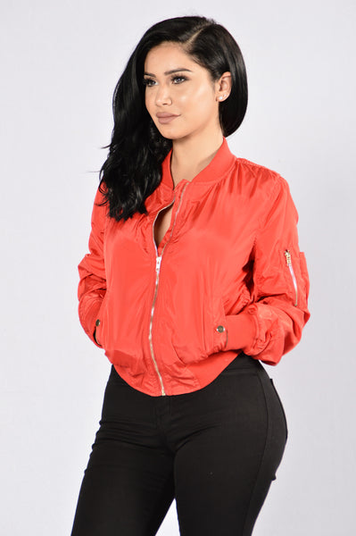 Picture Me Rollin' Jacket - Red