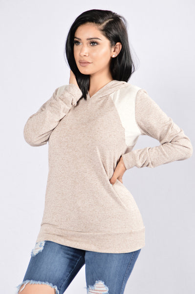 Cool and Comfy Sweater - Khaki