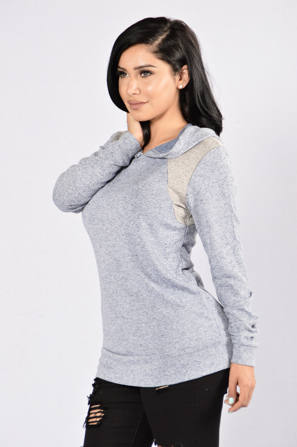 Cool and Comfy Sweater - Denim