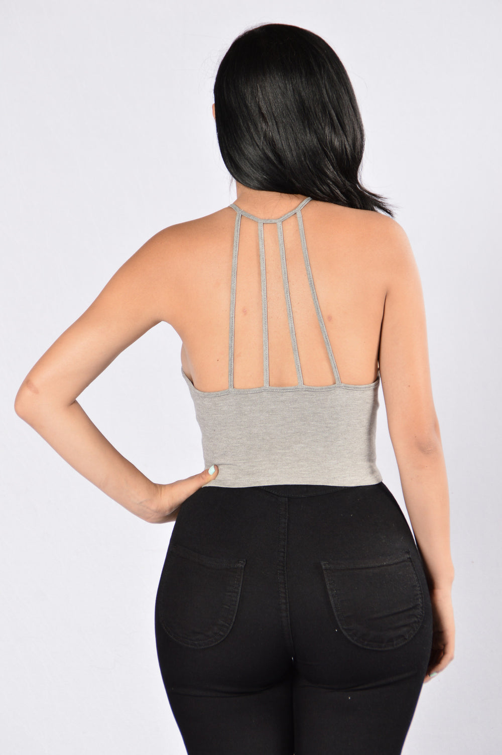Dancer Top - Grey