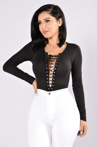 Playhouse Bodysuit - Black