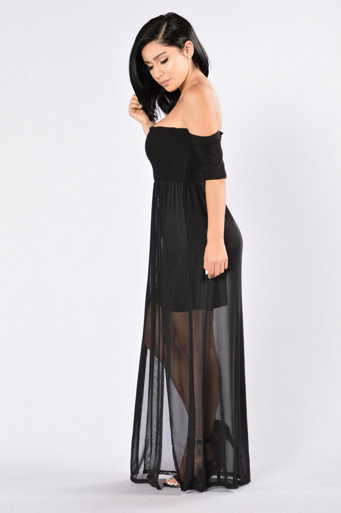 Darkest Dream Dress - Black