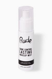 Rude Cosmetics Shine Control Lasting Makeup Mist - Clear