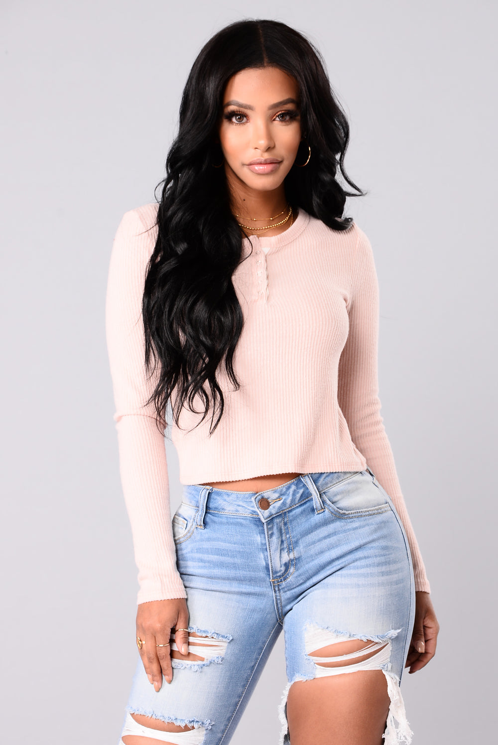 Alma Top - Rose Pink