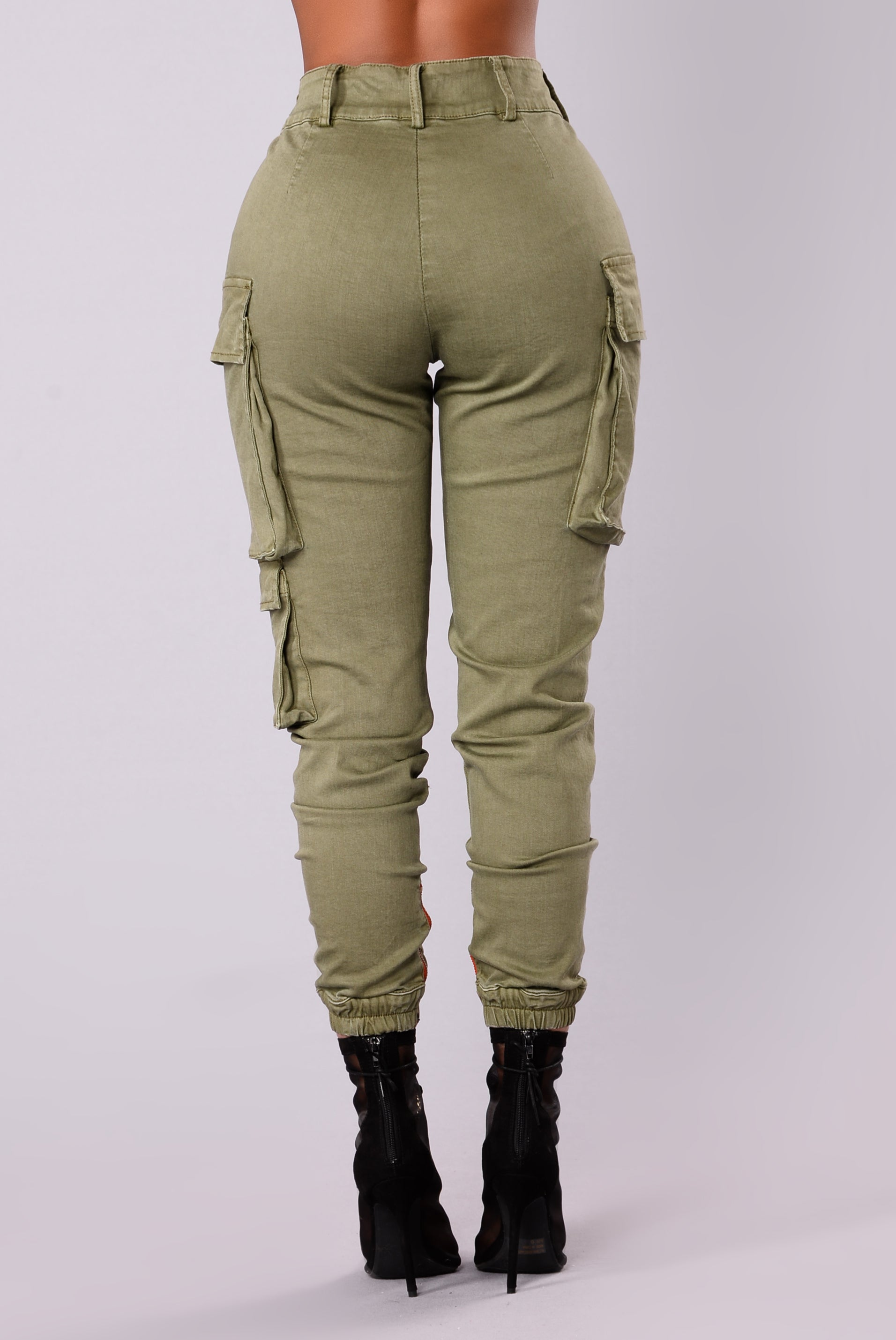 Kalley Cargo Pants Olive