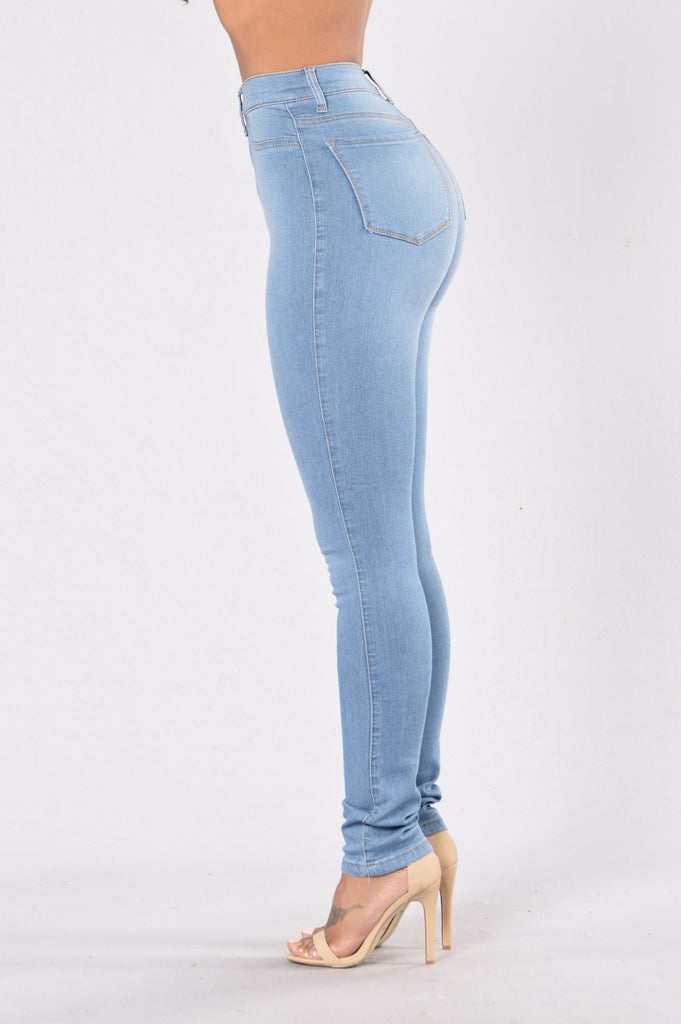 Love So Deep Jeans - Light Blue