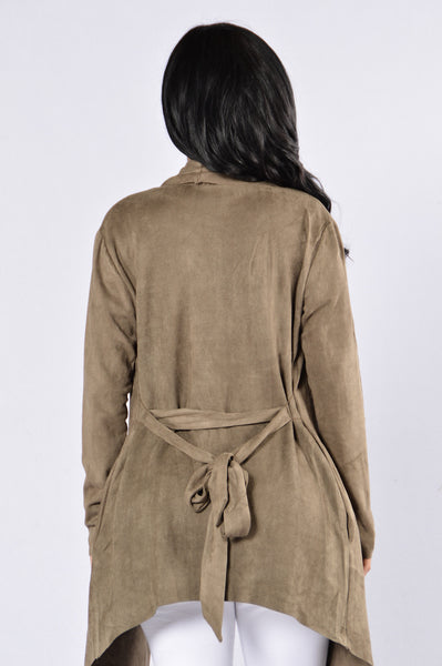 Nightwalker Trench Coat - Olive