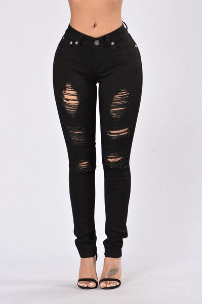 Sometime Never Jeans - Black