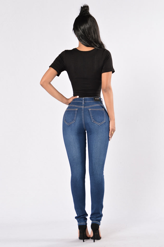 Night Time Lover Jeans - Dark Blue