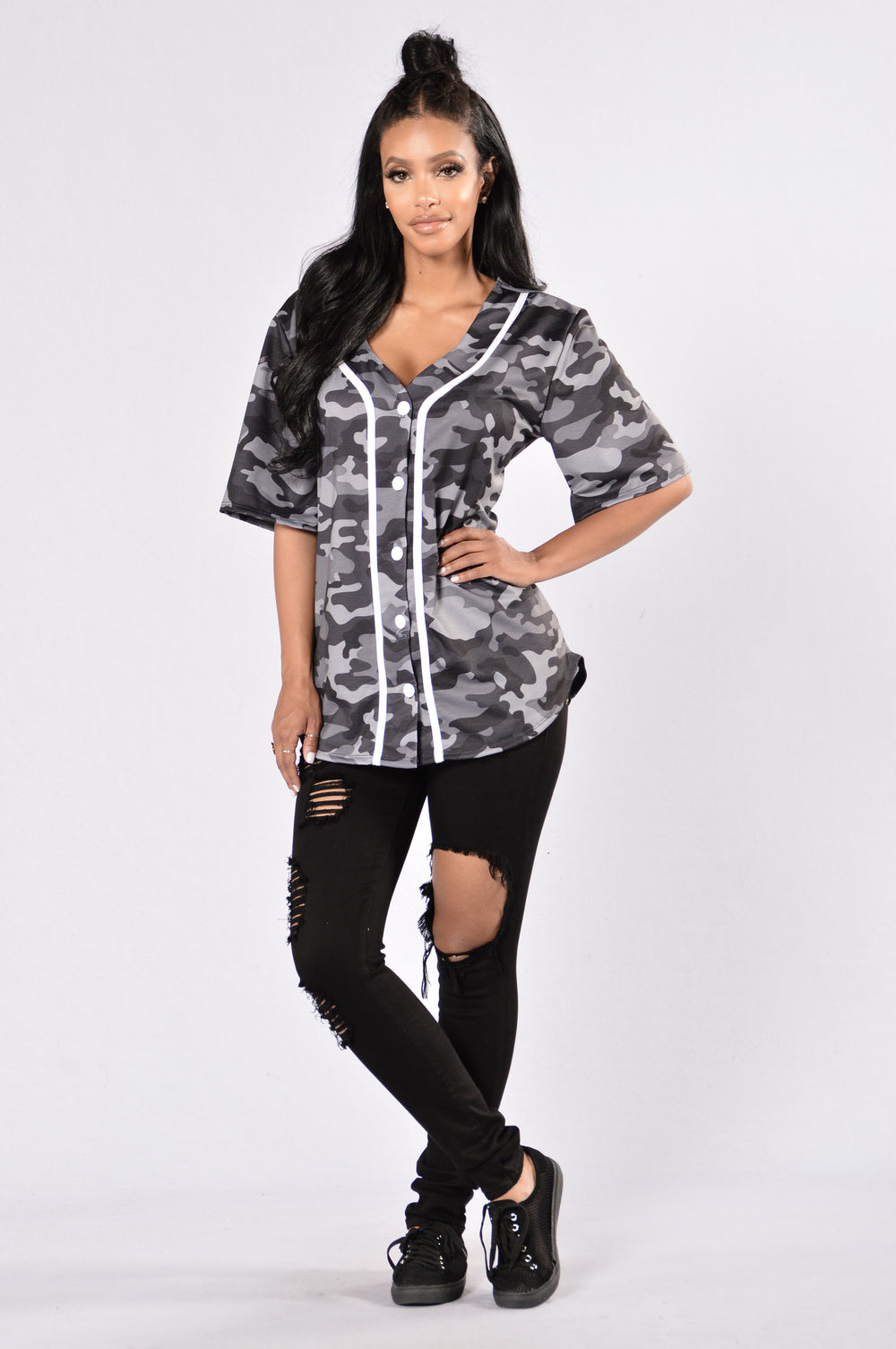 Game On Tunic - Camo