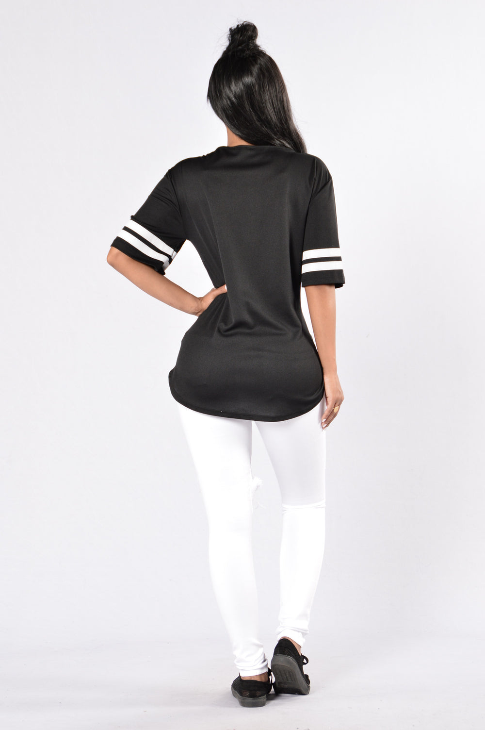 Game On Tunic - Black