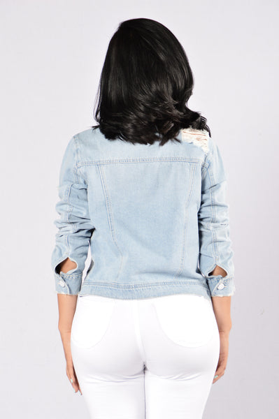 Pop Star Denim Jacket - Light
