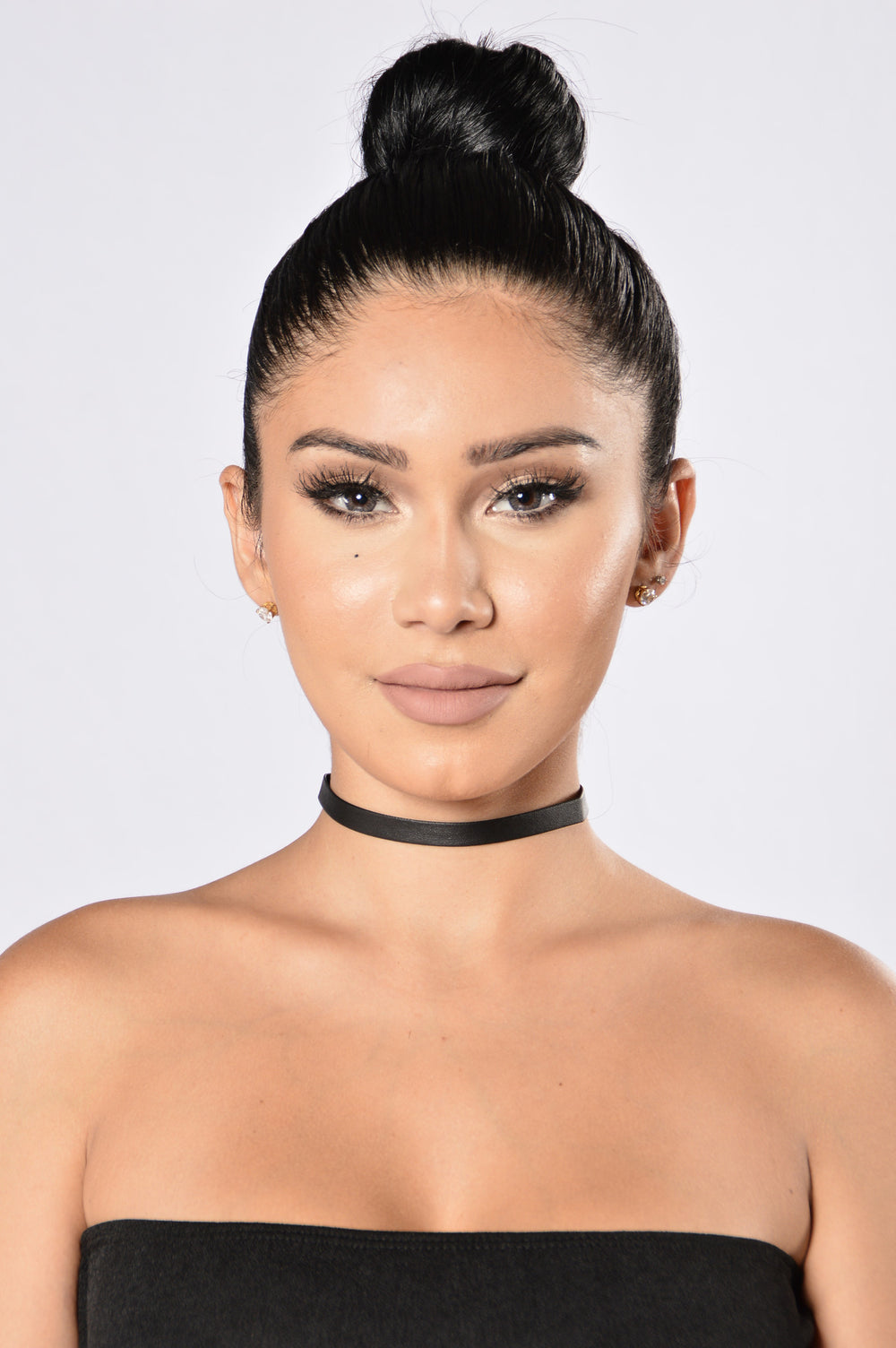 Go For it Choker - Black